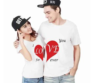 Love Couple T-shirt - 1916