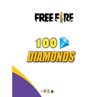 Free Fire 100 Diamond Topup