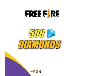 Free Fire 500 Diamond Topup