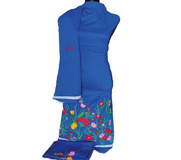 Unstitched Machine Embroidery Dress  -Product Code 103