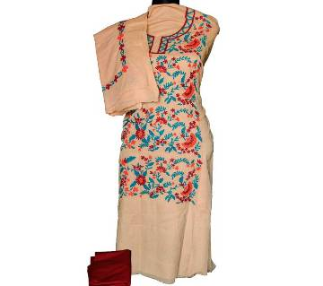 Unstitched Hand Embroidery Dress- Product Code 108
