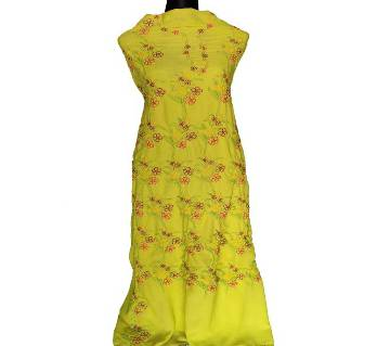 Unstitched Hand Embroidery Dress- Product Code 109