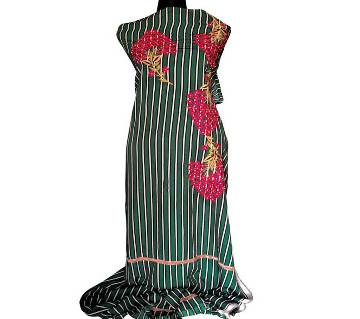Unstitched Machine Embroidery Dress- Product Code 110