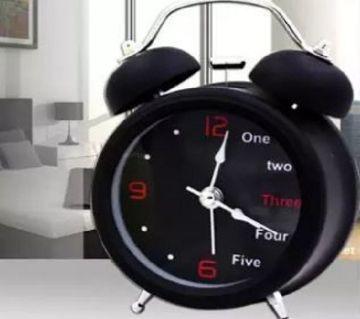English digital Double Bell Alarm Clock