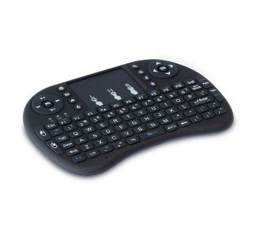 Mini Multi-media Remote Control and Touchpad Function Handheld Keyboard