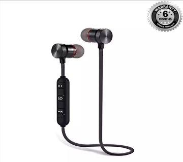 Metal magnetic sports Bluetooth headphones