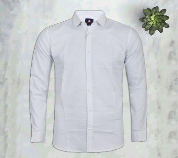 Mens Full Sleeve Shirt Standard Collar - 001 - GLF
