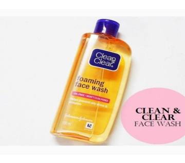 Clean & Clear Foaming Face Wash 100ml-India
