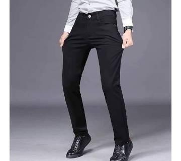 Casual Gabardine Pant for men- black