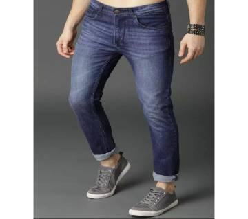 Denim Jeans pants for mens sky blue