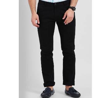 Gabardine pant for men  - Black 07 - BBF