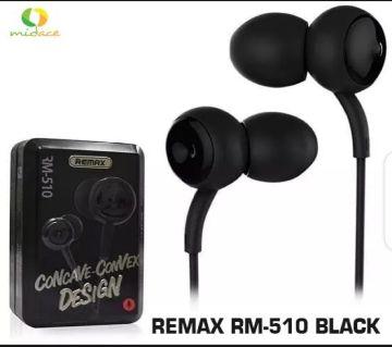 remax RM-510 Earphones black color