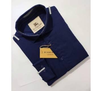 Nevvy blue full sleeve shirt for mens