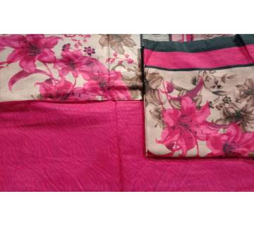Deshi Unstitched cotton salwar Kameez