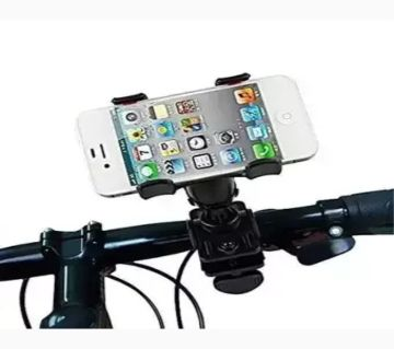 Driving time mobile phone holder for bike & bicycle black color