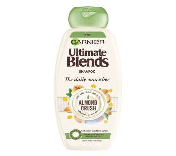 Garnier Ultimate Blends The Daily Nourisher Almond Crush Shampoo 360ml-Italy