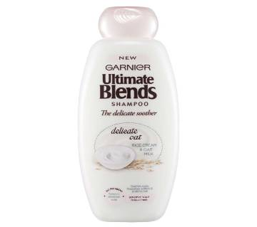 Garnier Ultimate Blends The Delicate Soother Shampoo 360ml-Italy