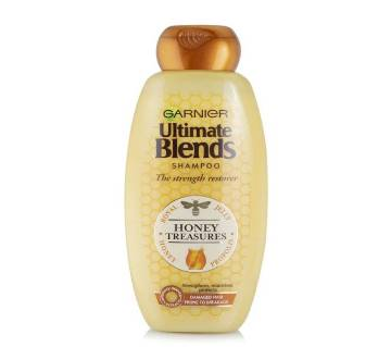 Garnier Ultimate Blends The Strength Restorer Honey Treasures Shampoo 360ml-Italy