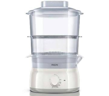 Philips Daily Collection Food Steamer White, HD9115/01 (Code - 330004)