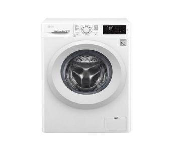 LG F4J5TNP3W 8 KG Front Load Fully Automatic Washing Machine.