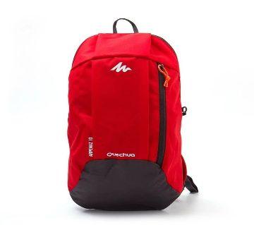 Mini Backpack- Red Black