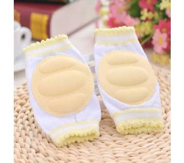 Baby Knee Pads for Safety  Off White