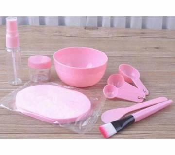 Facial Mask Mixing Bowl Set  Pink