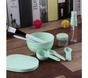 Facial Mask Mixing Bowl Set - Pest color