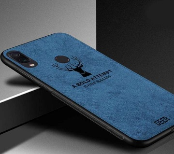 Deer Shockproof Phone Cover for Xiaomi Redmi Note 7 Pro - Blue