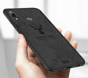 Deer Shockproof Phone Cover for Xiaomi Redmi Note 7 Pro - Black