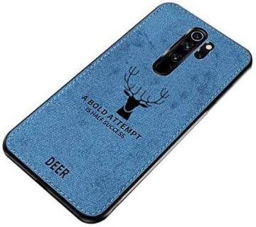Deer Back Cover For mi Redmi Note 8 Pro-Blue