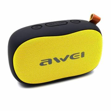 Awei Y200 - Wireless Bluetooth Speaker - Yellow and Black