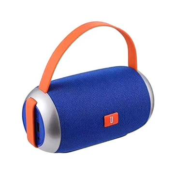 TG112 Mesh Texture Super Bass Portable Bluetooth Speaker-Blue