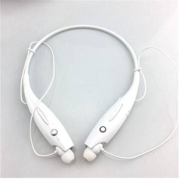 LG Bluetooth Headset Two Channel MP3 Music Headphone - HBS-730 - White