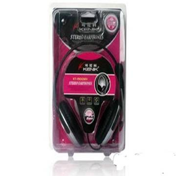 Koniycoi KT-1900MV Stereo Headphone - Red and Black