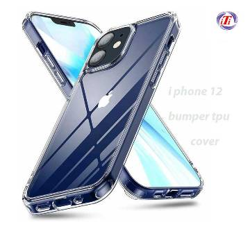 For iPhone 12 Pro Shock proof Transparent Back Cover