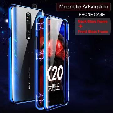 Xiaomi Redmi K20 Pro Magnetic metal frame glass Back Cover