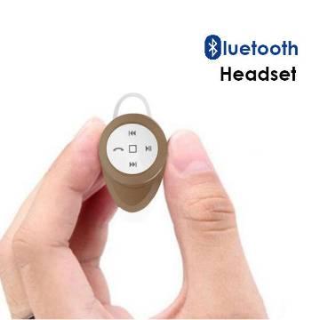 Mini Bluetooth Wireless Headphone-Golden