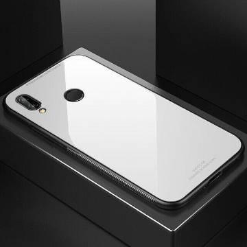 Xiaomi Redmi Note 7 / Redmi Note 7 Pro Back Cover Glass Case-White