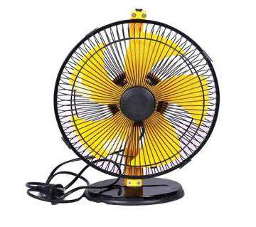 SONY Stormy High Speed Table Fan-Black & Yellow