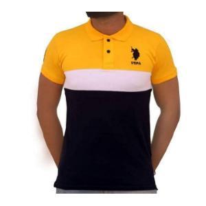 Half slevve cotton polo shirt for men