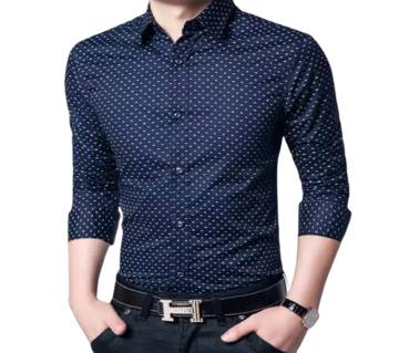 New Style Navy Blue shirt for man
