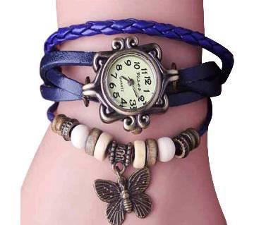 Blue Bracelet watch for ladies