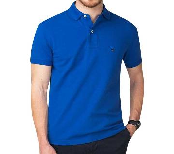 Maroon Cotton Polo t-Shirt For-Men