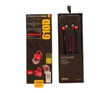 Remax RM 610D Super Bass Quality In-Ear Headphone
