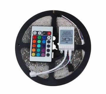 16 COLOUR LED STRIP LIGHT WITH REMOTE-16feet