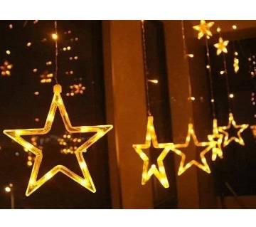 LED BIG STAR LIGHT-12pcs 15feet
