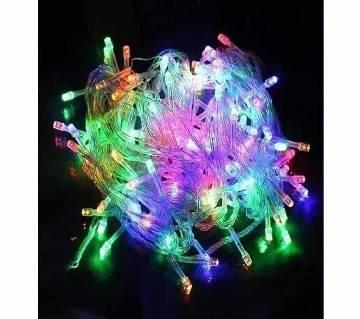 LED MULTI COLOUR FAIRY LIGHT-80 LIGHT -30 FEET