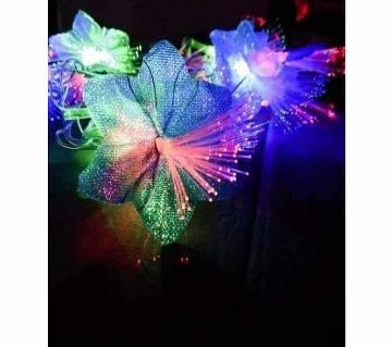 LED MULTI COLOUR FLOWER LIGHT-20 PIECE -12 FEET