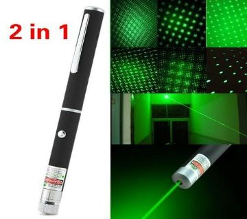Rechargeable Green Laser Pointer - Blacks